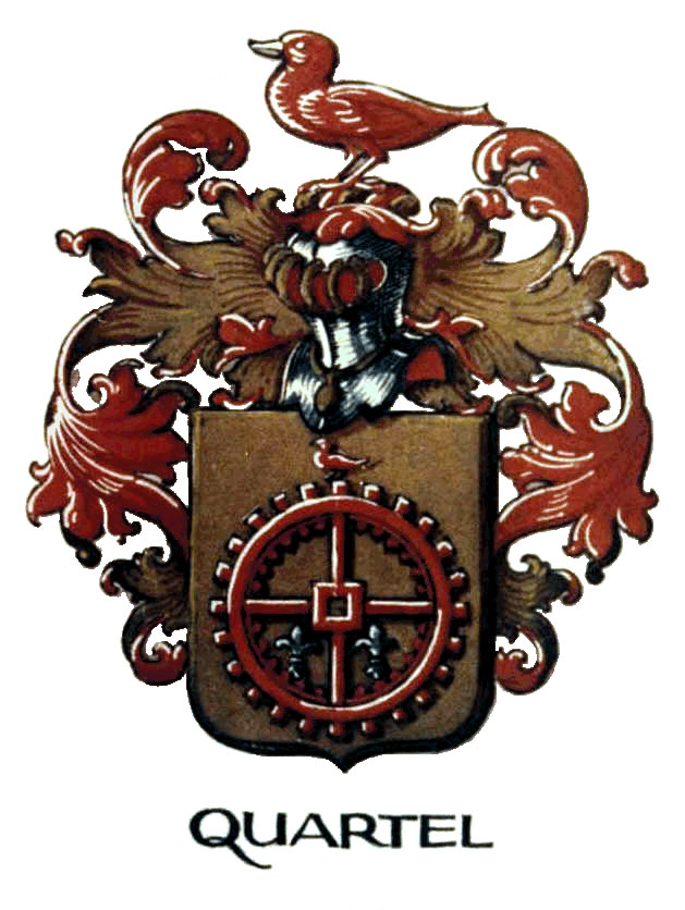 Quartel Family Crest